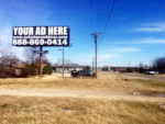 Texas location 729 sign